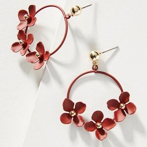 Anthropologic Buttercup Drop Earrings NWT